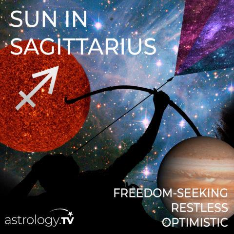 Sun in Sagittarius by Astrology.TV
