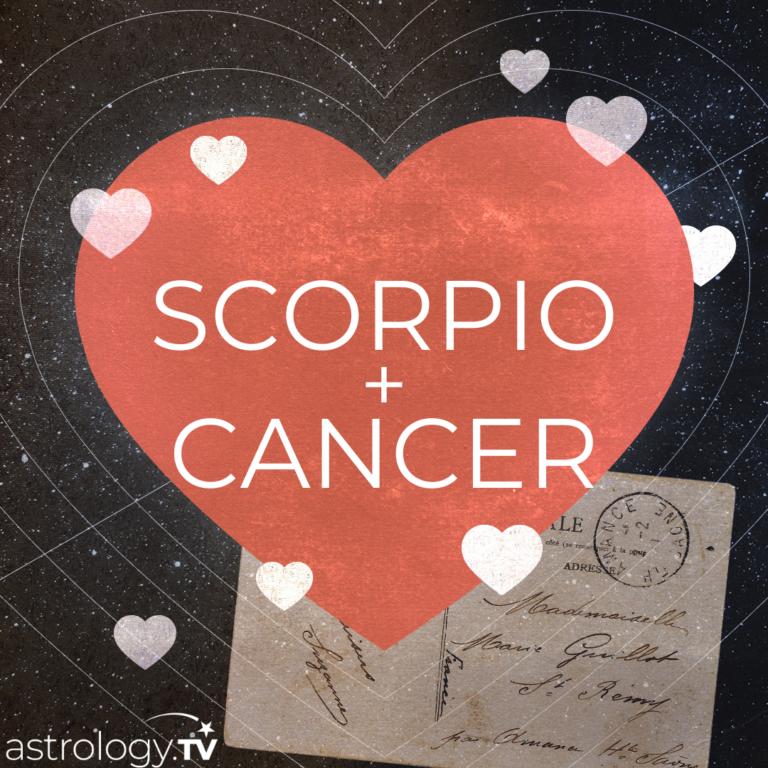 Cancer love scorpio Scorpio and